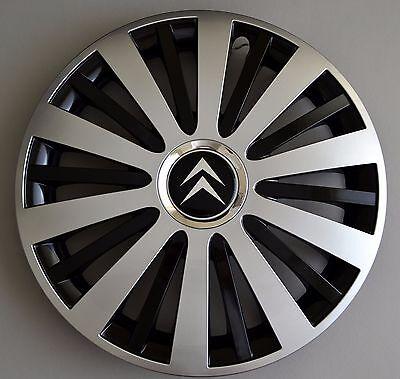 """rueda Adornos Xsara. cubiertas Tapacubos C2 cantidad 4 14/"""" Citroen C1 Berlingo"""