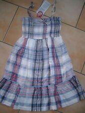 (141) Süßes Nolita Pocket Girls Träger Kleid Sommerkleid mit Glitzerfaden gr.92
