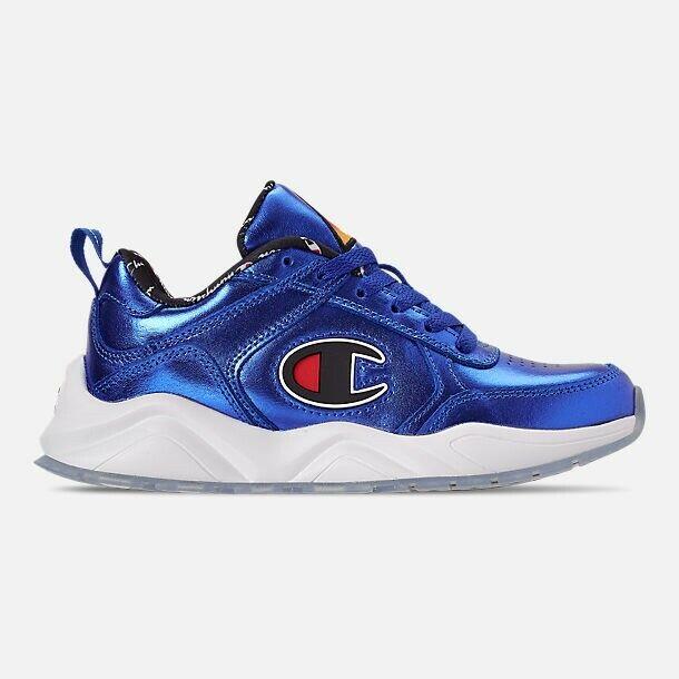 Para Hombres Zapatos informales Champion 93 dieciocho nos Azul 8.5