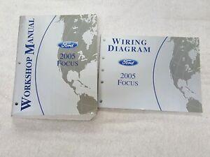 2005 Ford Focus Service Shop Repair Manual Wiring Diagrams Set Ebay