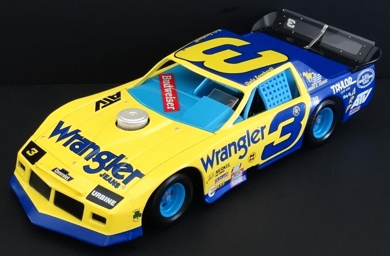 Dale Earnhardt, Sr. Wrangler Jeans 1 24 Action OUTLAW LATE MODEL 1985 Camaro