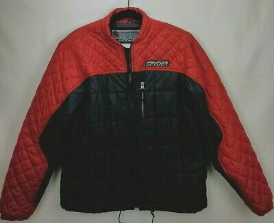 XL NWT BOYS KID COLUMBIA BLACK RED FULL ZIP DOWN PUFF JACKET COAT SIZE L