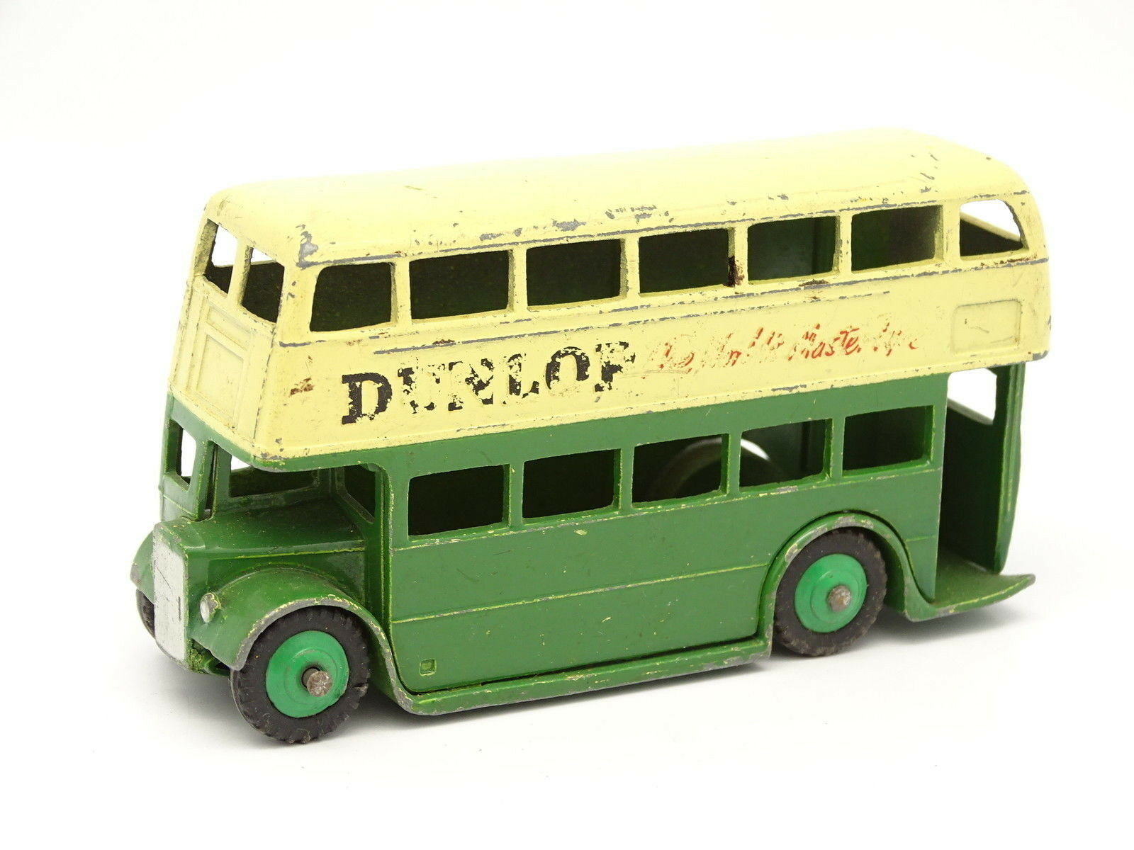Dinky toys GB SB 1 55 - London Routemaster Autobus Dunlop green 290