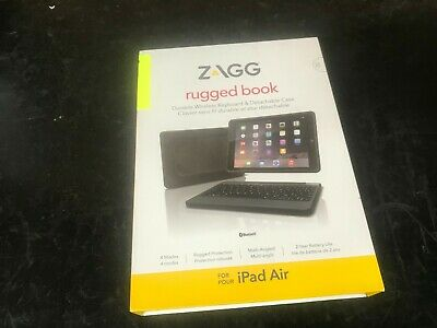 Zagg Rugged Book Durable Case Hinged With Detachable