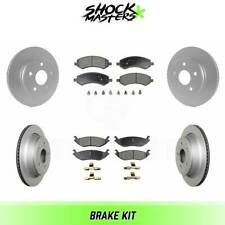 PCD1565A REAR Premium Ceramic Brake Pads Fits 2012-2016 Nissan NV2500