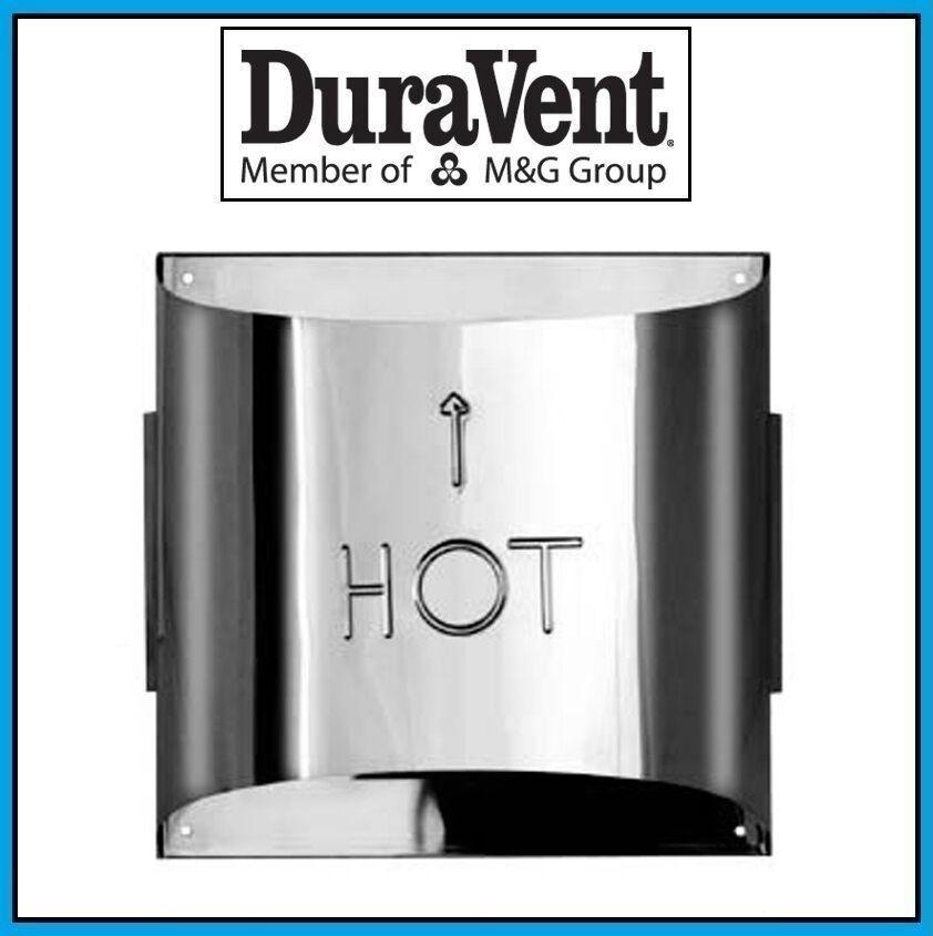 DURAVENT 4  x 6 5 8  DirectVent Pro Sconce Termination Cap  46DVA-HSC