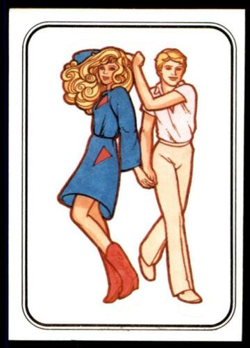 Mattel Barbie Sticker 1983 78 No Panini