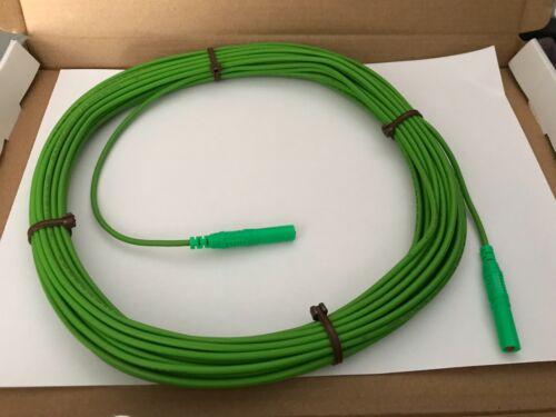 VERDE. per elettricista Prova flessibile R2 PIOMBO 16m di lunghezza si adatta Fluke /& Megger