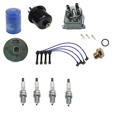 Tune Up Kit For 1996-2000 Honda Civic CX DX LX EX 1.6L NGK V-Power Plugs