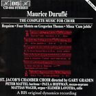 Duruflé Music for Choir Audio CD