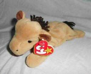 Ty Beanie Baby Babie - DERBY Horse (No Star) Retired OOP RARE NWT NWMT