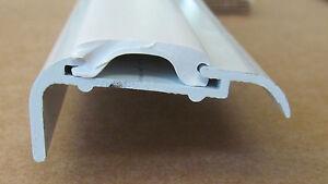 92 White Aluminum Vinyl Insert Roof Edge Corner Molding Rv Trailer 5 8 X 1 1 2 Ebay