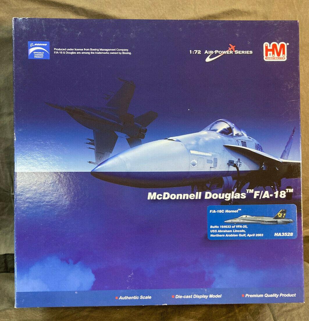Hobby Master 1:72 F//A-18D Hornet USMC VMFA Green Knights MCAS Miramar HA3552