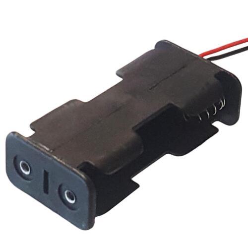 AA x 2 porte-batterie avec 12 cm conduit