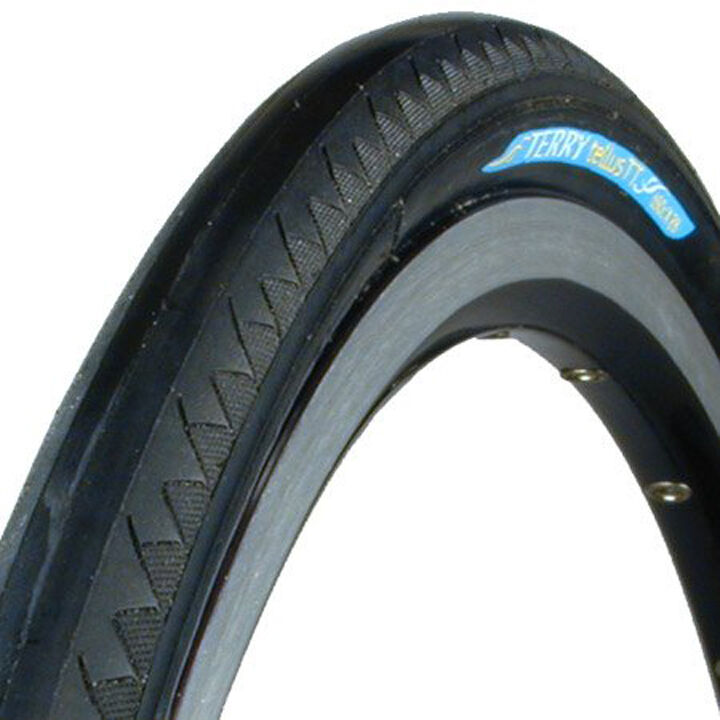 Pair of Tires Terry Tellus TT 650cx28 Wire Bead with PT Puncture Predection
