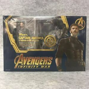 S-H-Figuarts-SHF-Avengers-Infinity-War-Captain-America-6-039-039-Figure-Deluxe-Edition