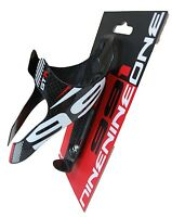 991 Gtr 3k Carbon Water Bottle Cage Glossy Black Red 74mm 1pc
