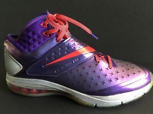 100% authentic 5ce16 871fc Nike Air CJ81 Trainer Max Sz 11.5 Megatron Calvin Purple Red Grey ...