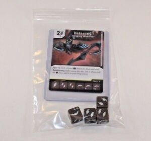 FIREFLY 4 DICE Set RARE Uncommon CUR DC Dice Masters Batman