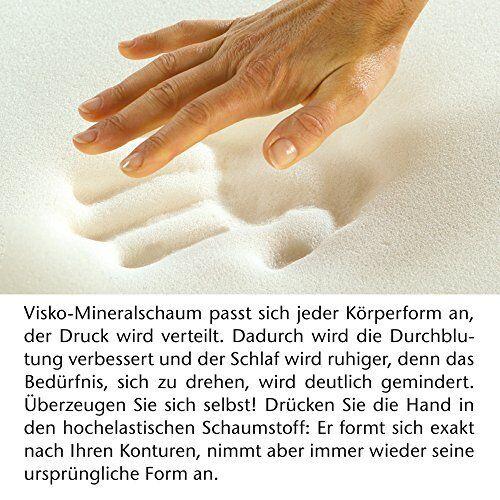 Gästematratze »Deluxe« 4 cm Visco Gästebett klappbar Viscomatratze Klappmatratze