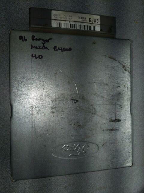 1996 Ford Ranger Mazda B4000 4 0 Ecm Ecu Computer F5pf
