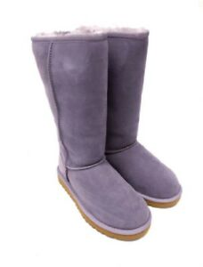154a2a11927 Details about UGG Unisex Classic Tall Boots Little Kids Style, Purple Ash,  13