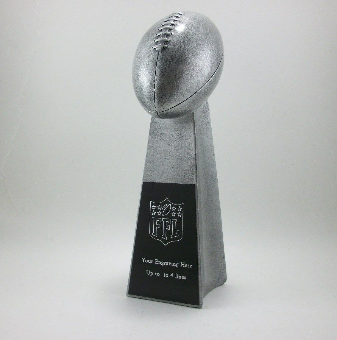 14  Fantasy Football Lombardi Trophy Award. Free Engraving.
