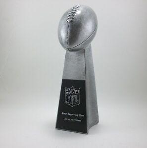 14 Quot Fantasy Football Lombardi Trophy Award Free Engraving