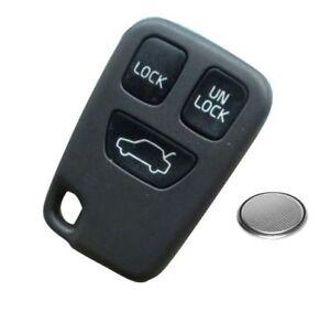 volvo 3 button remote key fob case shell s40 v40 s70 c70 v70 xc90image is loading volvo 3 button remote key fob case shell