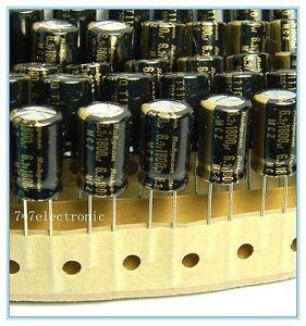 1500uf 6.3v Rubycon Electrolytic Capacitors MCZ Ultra Low ESR 6.3v1500uf 10pcs
