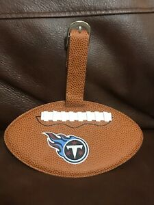 Tennessee Titans Football Shaped Luggage Tag NFL Season ...