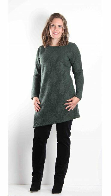 MaSai  Gussie Tunic  Emerald Green  Small