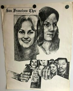 PATTY-HEARST-SYMBIONESE-LIBERATION-ARMY-1976-POSTER-SAN-FRANCISCO-CHRONICLE