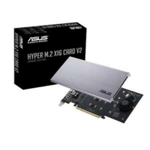 Asus-226819-Accessory-Hyper-M-2-X16-Card-V2-Nvme-M-2-128gbps-Pcie-Retail