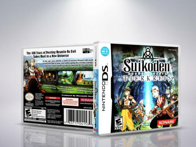 Suikoden Tierkreis  - DS - Replacement - Cover / Case (NO Game)