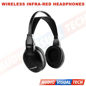 Xtrons-IR-Wireless-Cordless-Dual-Channels-Stereo-Headphones-For-Car-DVD-Player