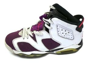 0368c5b2bbdf Nike Air Jordan 6 VI Retro GG GS SZ 6Y Bright Grape Purple 543390 ...
