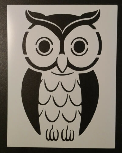 "Owl Bird 8.5/"" x 11/"" Stencil FAST FREE SHIPPING"