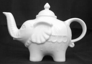 BIA-Elephant-Shape-White-Porcelain-Teapot-DRH-Collection-0-7L-Cute-Fun-Unusual