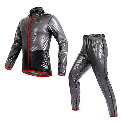 Cycling Jersey Wind Coat Rain Coat Windproof Waterproof Bike Bicycle Jersey Pant
