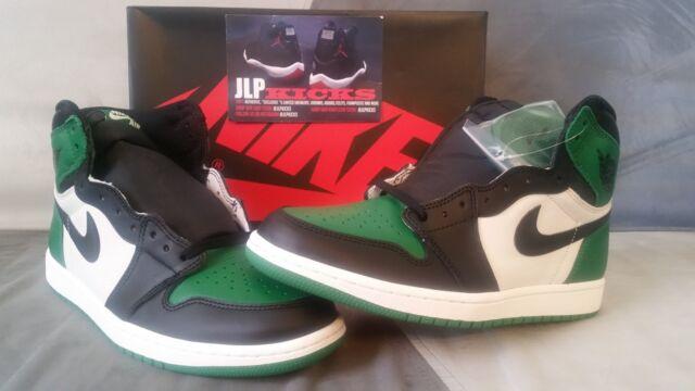 brand new 919fa ba43a Air Jordan 1 Pine Green Size 10 Aj1 OG High Retro 555088-302