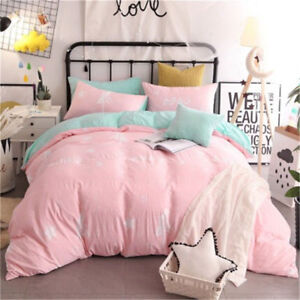 Sailor-Moon-Anime-Washed-Cotton-Bedding-Quilt-Duvet-Cover-Pillowcases-Sheet-Sets