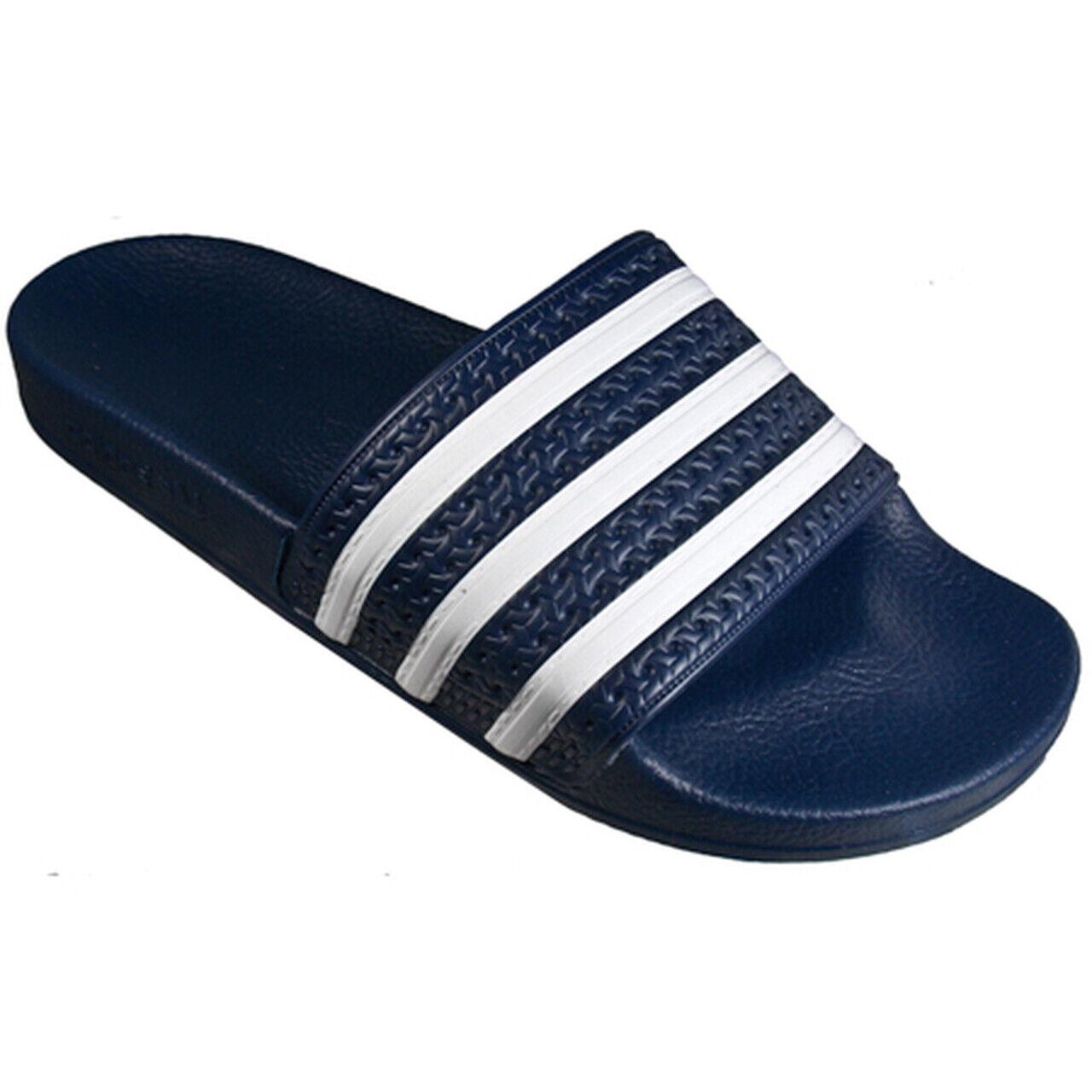 Adidas Adilette Slide Sandal Size Men's 9 Navy