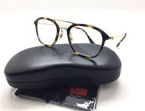 823c6b00bd8d Ray-Ban Spotted Tortoise Eyeglasses Frame metal RB 7098 2012 50mm ...
