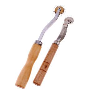 2mm & 2,5mm Kopierrädchen mit Holzgriff Schnittmusterrädchen
