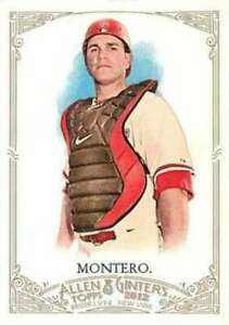 2012-Allen-and-Ginter-20-Miguel-Montero-Diamondbacks-NM-MT