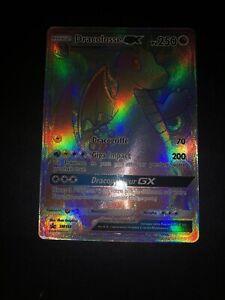 DRACOLOSSE GX RAINBOW JUMBO POKEMON PROMO SL7.5 SM156 NEUF FR