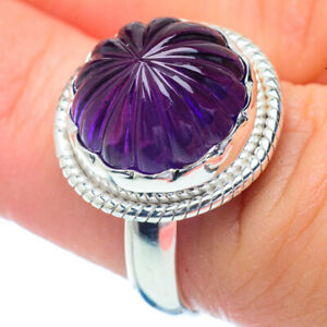 Amethyst-925-Sterling-Silver-Ring-Size-7-5-Ana-Co-Jewelry-R35081F