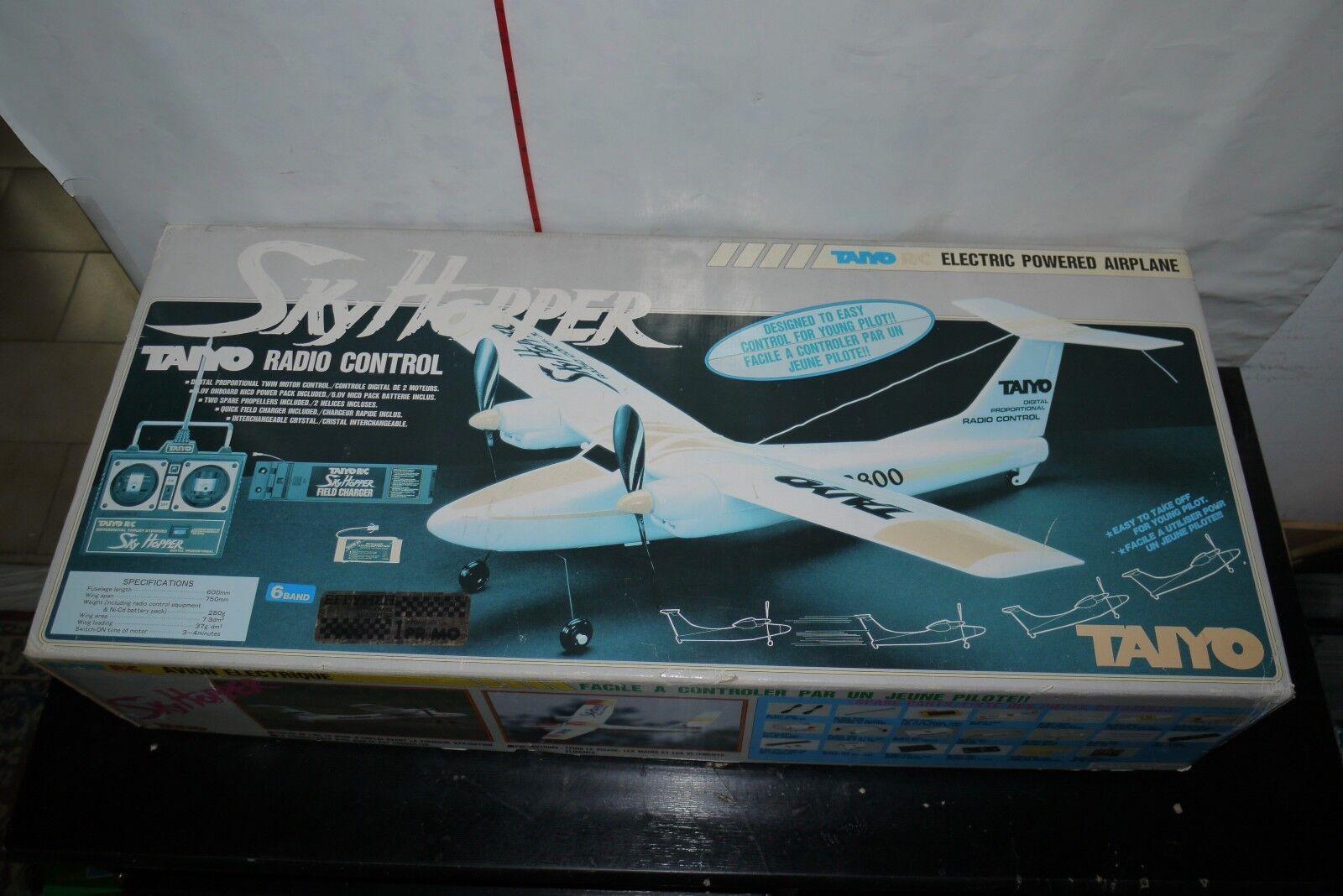 90'S VINTAGE TAIYO cielo HOPPER PLANE  R C giocattolo RADIO CONTROL 9012 MIB  migliori prezzi e stili più freschi