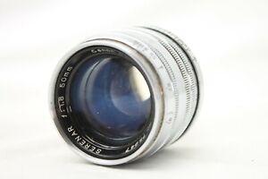 Vintage-Canon-Serenar-1-1-8-50mm-Lens-Leica-Screw-Mount-As-Is-S019e